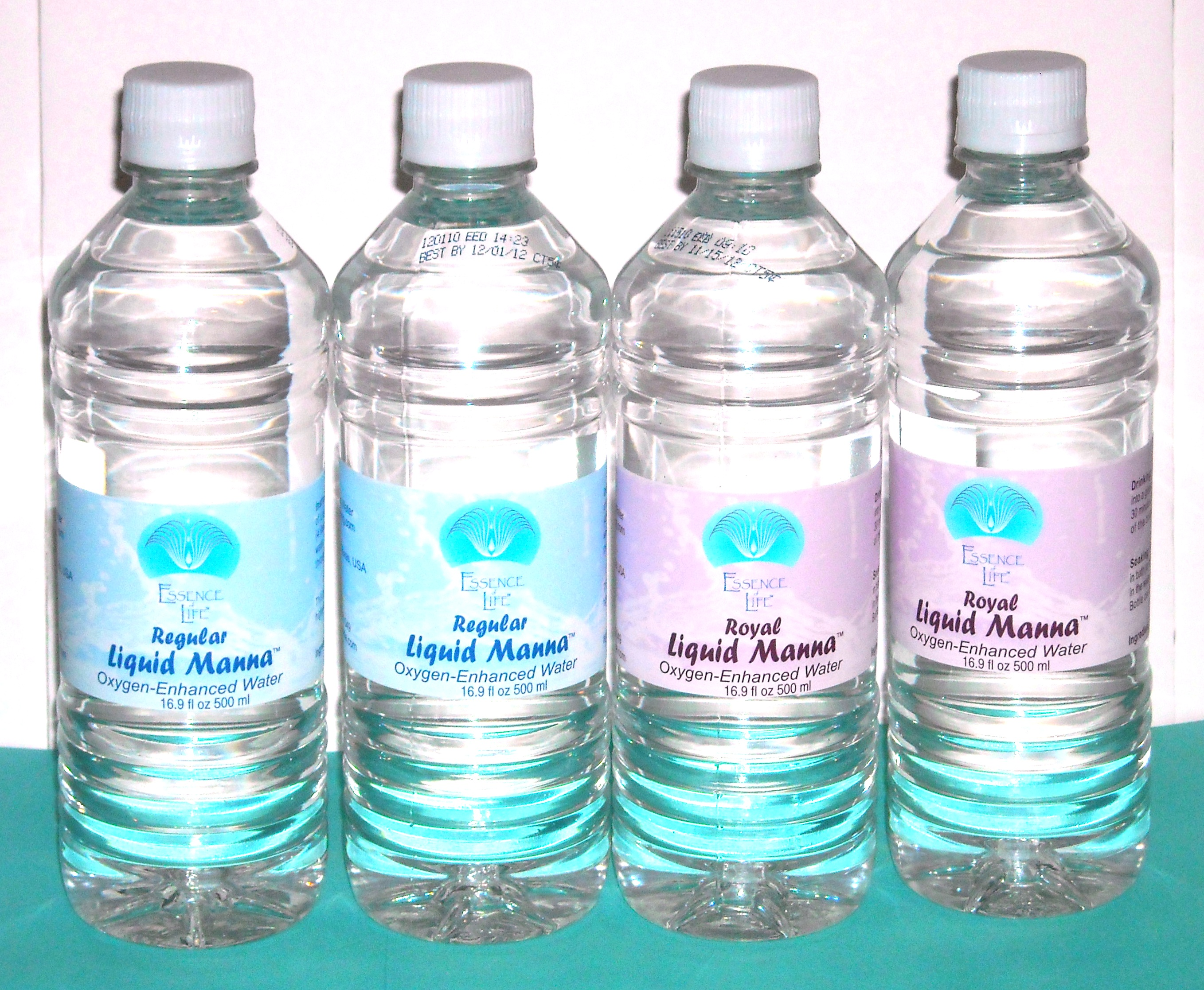 Bottles of Liquid Manna